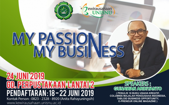 Seminar Kewirausahaan My Passion My Business